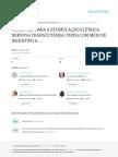 Cavalcante Et Al 2012 Ha- Espac-o Para a Estimulac-A-o Ele-trica Nervosa Transcuta-nea (Tens) Com Meio de Incentivo a Regenerac-A-o Nervosa Perife-rica- Um Ensaio Teo-rico
