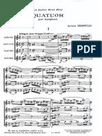 Alfred Desenclos - Quatuor [Sax quartet SATB].pdf