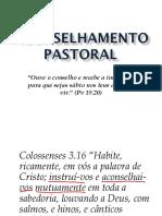 Aconselhamento Pastoral - Aula 02