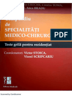 Teste Grila Pentru Rezi 2016.1 - Dupa COMPENDIU Ed. Med