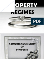 Property Regimes