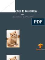 Introduction to Tensorflow