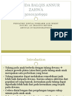 Ppt Jurnal RADIOLOGI Melinda Fix