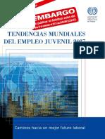 Tendencias mundiales del empleo juvenil 2017