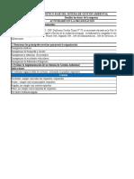 Diagnóstico de Línea de Base Del SGA