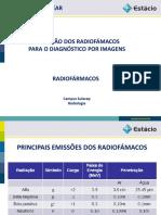 Aplicação Dos Radiofármacos - Av2 Torres Medicina Nuclear