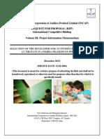 RFP for Tirupati International School Volume III