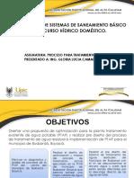 Diagnóstico de Sistemas de Saneamiento Básico Del Recurso Hídrico Doméstico