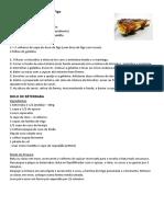 Cheesecake de Alfarroba e Figo