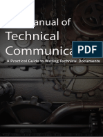 The Manual of Technical Communication