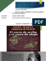 Analisis de La Obra El Zorro de Arriba y El Zorro de Abajo