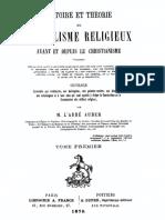 Histoire Et Theorie Du Symbolisme Religieux (Tome 1)