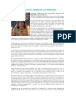 Biografía de La Virgen de Las Mercedes