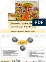 Wholesale Terminal Markets- Relocation and Redevelopment