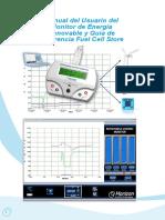 Fcjj 24 Horizon Renewable Energy Monitor User Manual Spanish