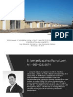 Exposición de cementos pacasmayo Ing Leonardo Galvez Chile