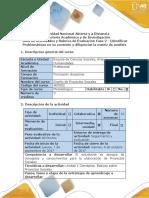 Guía de Actividades y Rúbrica de Evaluación - Fase 2 - Identificar Problemáticas en Su Contexto y Diligenciar La Matriz de Análisis (1)