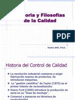 Historia y Filosofias de La Calidad 2017-II