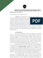 Ruanova Gonzalo Roberto Contra Gcba Sobre Amparo ( Art. 14 Ccaba)