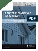 2017 10 Realtors Confidence Index 11-21-2017