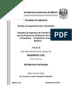 INGENIERÍA DE TRÁNSITO TESIS