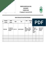 2.3.3.1 Bukti Evaluasi Struktur Organisasi