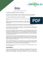 Dieta Atkins(Resumen)