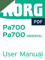 Pa700 User Manual E3
