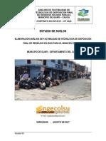 Estudio de Suelos PMIRS GUAPI - COLOMBIA