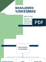 Manajemen Puskesmas 1.ppt