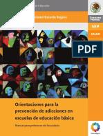 Manual de Orientaciones Adicciones (Secundaria)