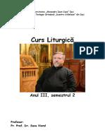 Liturgică Semestru II