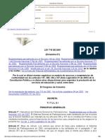 Consulta de La Norma_Ley 715 de 2001