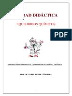 Unidad Didáctica de Equilibrios Quimicos Final