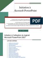 Powerpoint Initiation