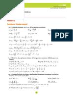 Matemáticas Académicas. 3º ESO. Soluciones unidad 4