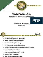 CENTCOM Update