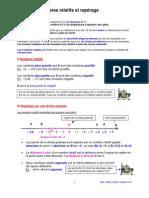 nombres relatifs (5èmes)