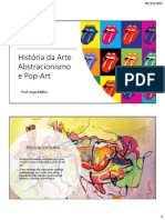 Abstracionismo e Pop Art