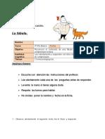 Ficha 10 Lenguaje Unidad 1 3ro Clase 18