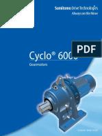 Cyclo Gearmotor Catalog ENG