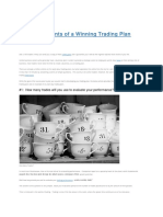 10 Elements of a Winning Trading Plan