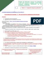 correction TD activité loi des rendemants décroissants.doc