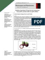 Isolation of Garcinone E From Garcinia Mangostana