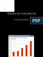 Wisdom for Everyday Life - Financial Wisdom
