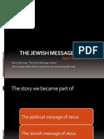 The Jewish Message of Jesus