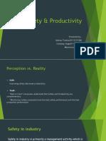Safety & Productivity