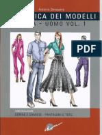 La Tecnica Dei Modelli Uomo - Donna Volume 1