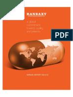 An. Report Pharma India