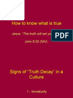 2 - How to Know What is True
